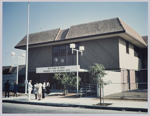 Image for Photograph of South Central Los Angeles Center designed by Harold Williams