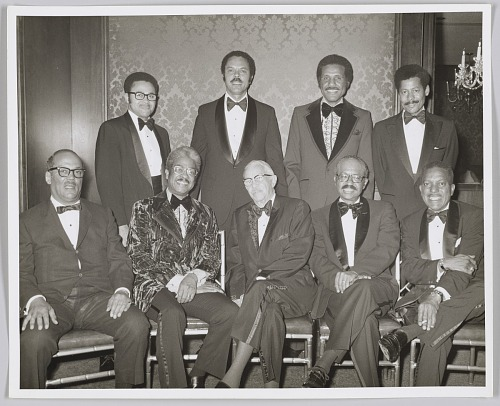 Image for Photograph of a group at Paul R. Williams tribute event