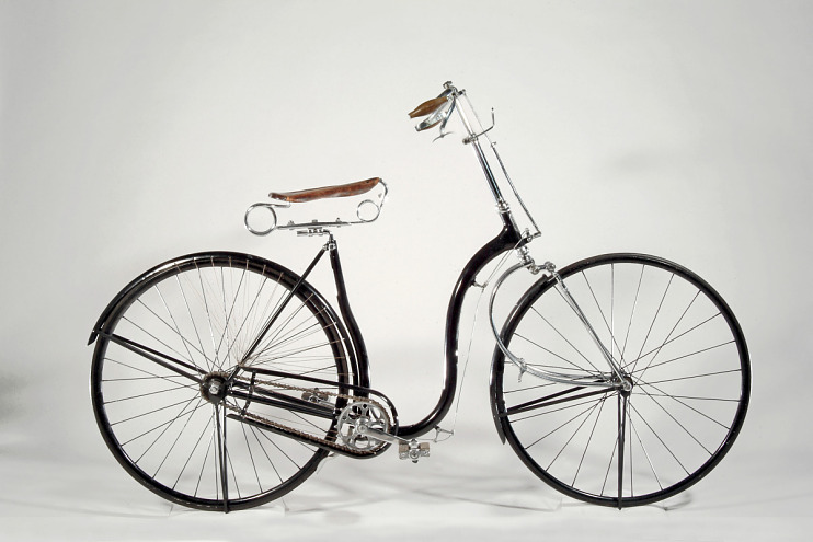 Woman's Overman Victoria safety bicycle