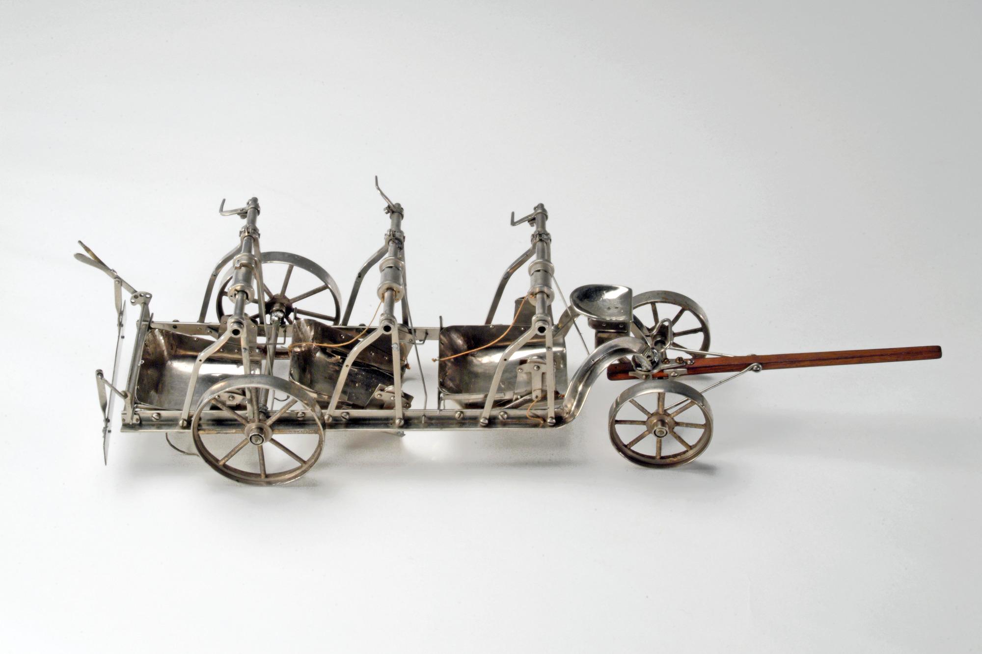 Patent model, road scraper, 1894