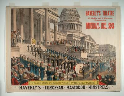 Haverly's European Mastodon Minstrels