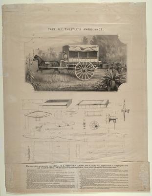 Capt. H.L. Thistle's Ambulance