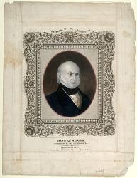 John Q. Adams, 5th President of the United States