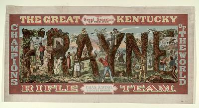 The Great Kentucky Rifle Team