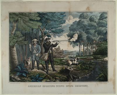 American Sporting Scene, Snipe Shooting