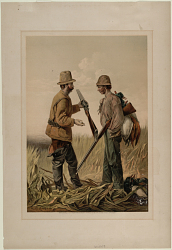 Untitled (Two hunters)