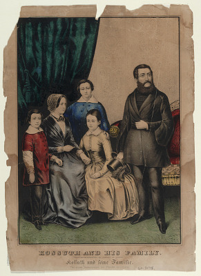 Kossuth and His Family