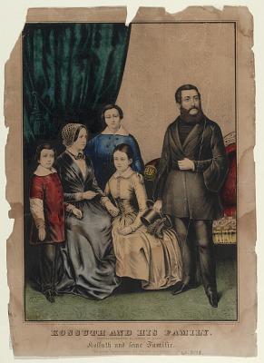 Kossuth and His Family
