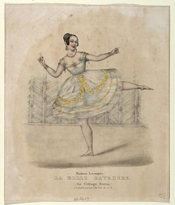 Madame Lecompte La Belle Bayadere