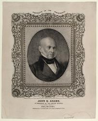 John Q. Adams. 6th President of the United States