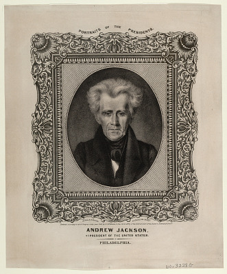 Andrew Jackson. 7th President of the United States