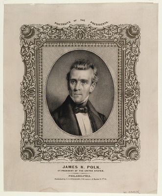 James K. Polk. 11th President of the United States