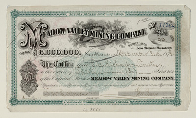 Meadow Valley Mining Company.