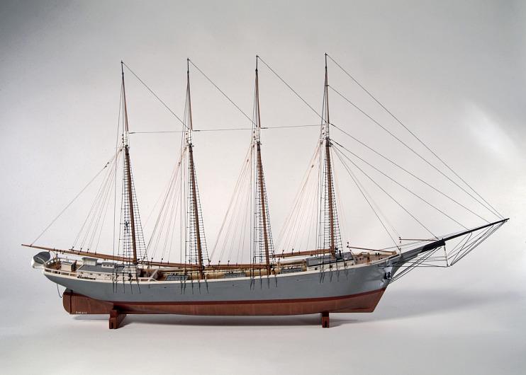 Coastal schooner <i>C. C. Mengel Jr.</i>, 1916