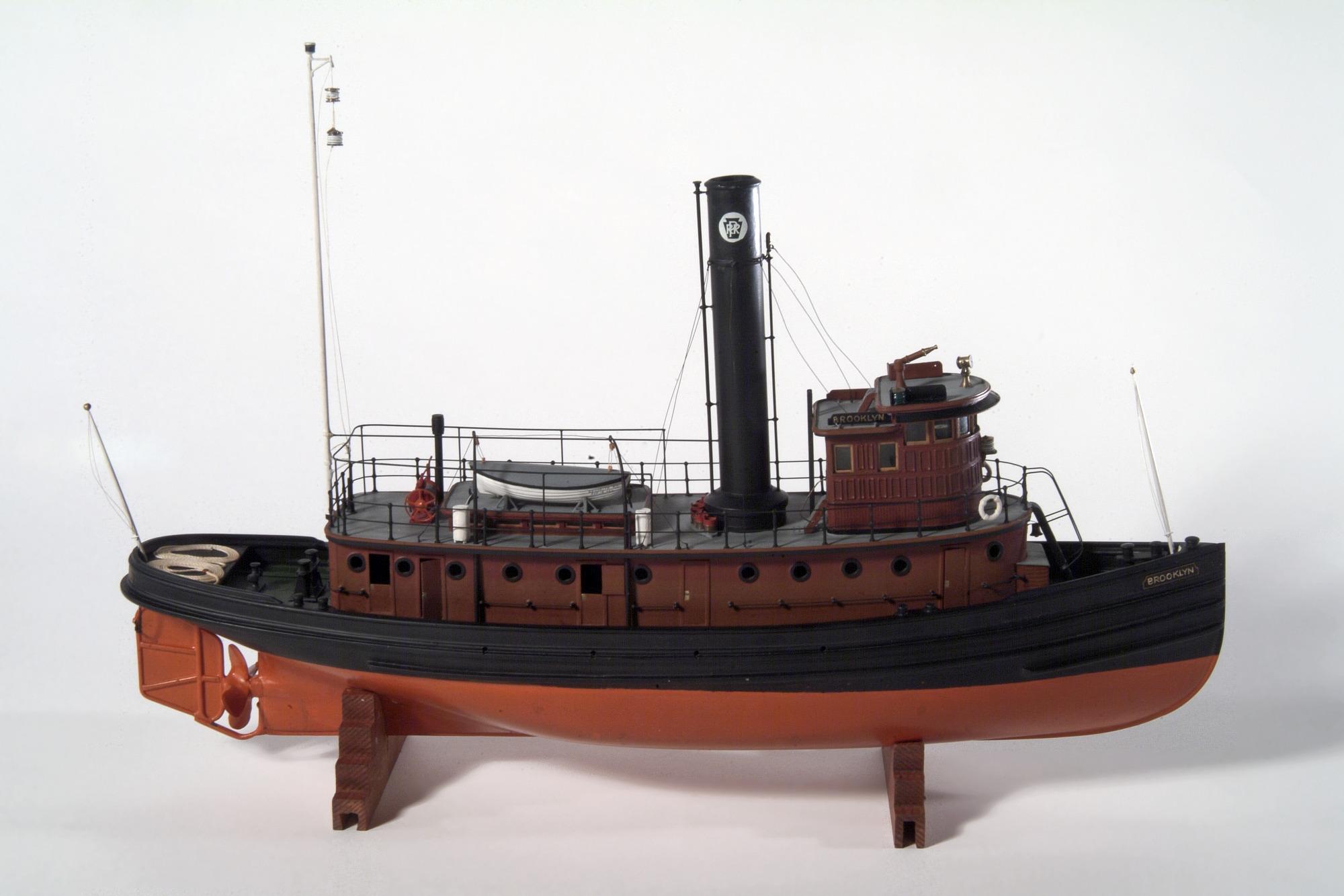 Harbor tug Brooklyn, 1910