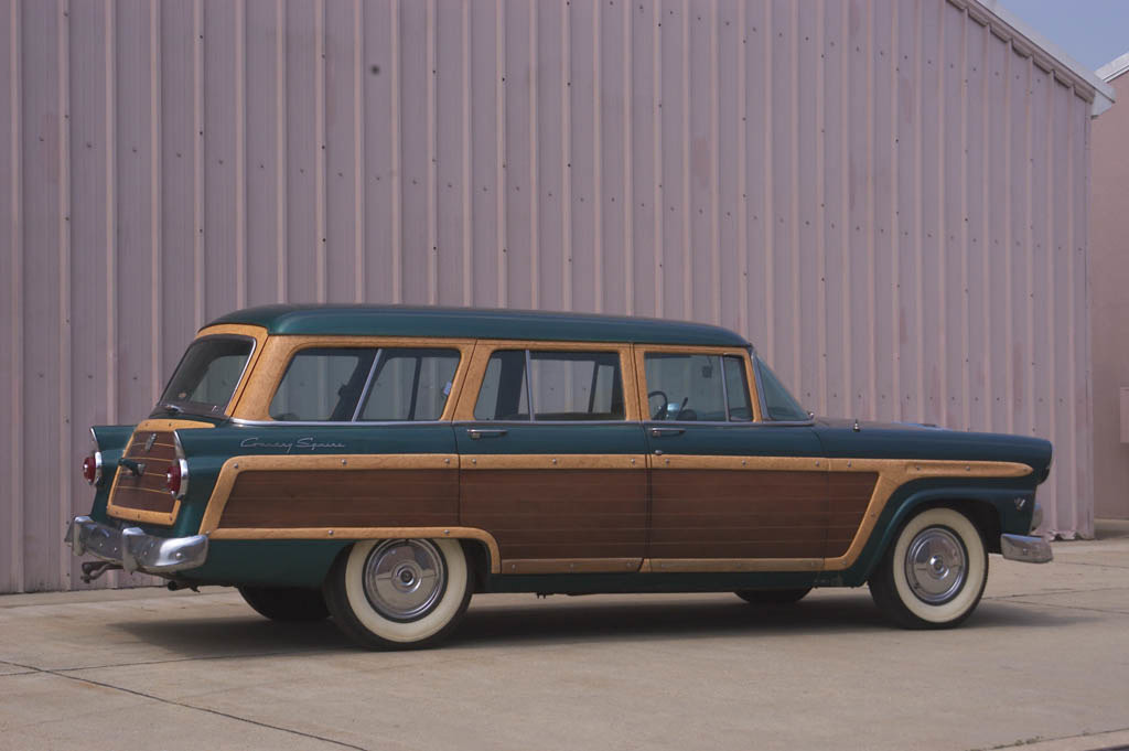 Ford Country Squire station wagon, 1955