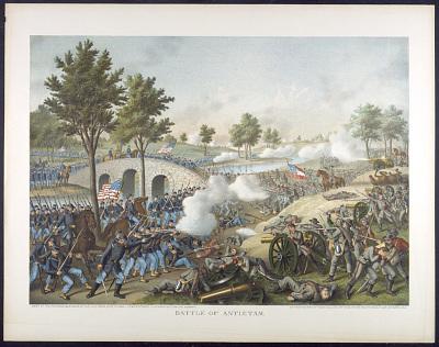 <i>Battle of Antietam</i> Lithograph