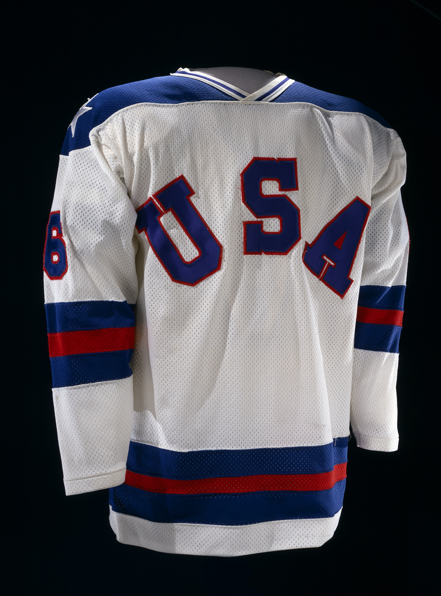 images for Team USA Hockey Jersey, worn by Bill Baker