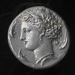 images for 1 Decadrachm, Syracuse, about 400 B.C.E.-thumbnail 1