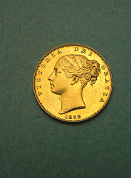 1 Sovereign, Great Britain, 1838