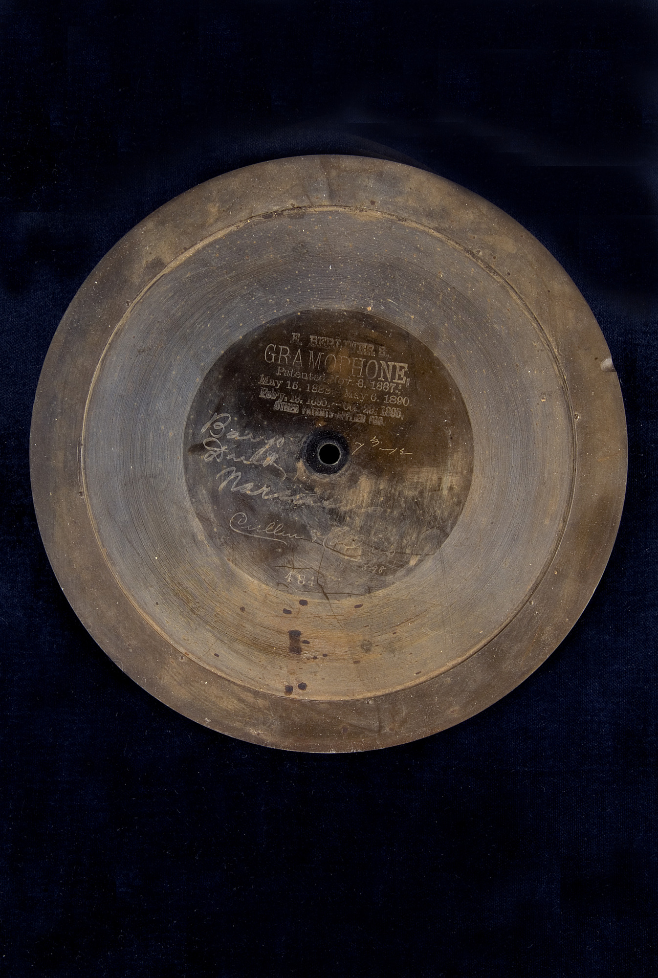 Image for Berliner Gramophone Record