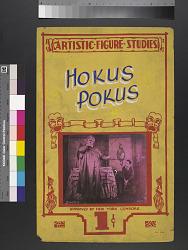"""""""Hokus Pokus"""" mutoscope movie poster"""