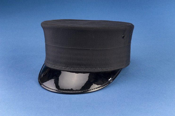 Railroad conductor's cap, 1920s–1940s