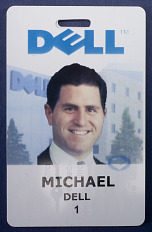 Employee Badge for Michael Dell