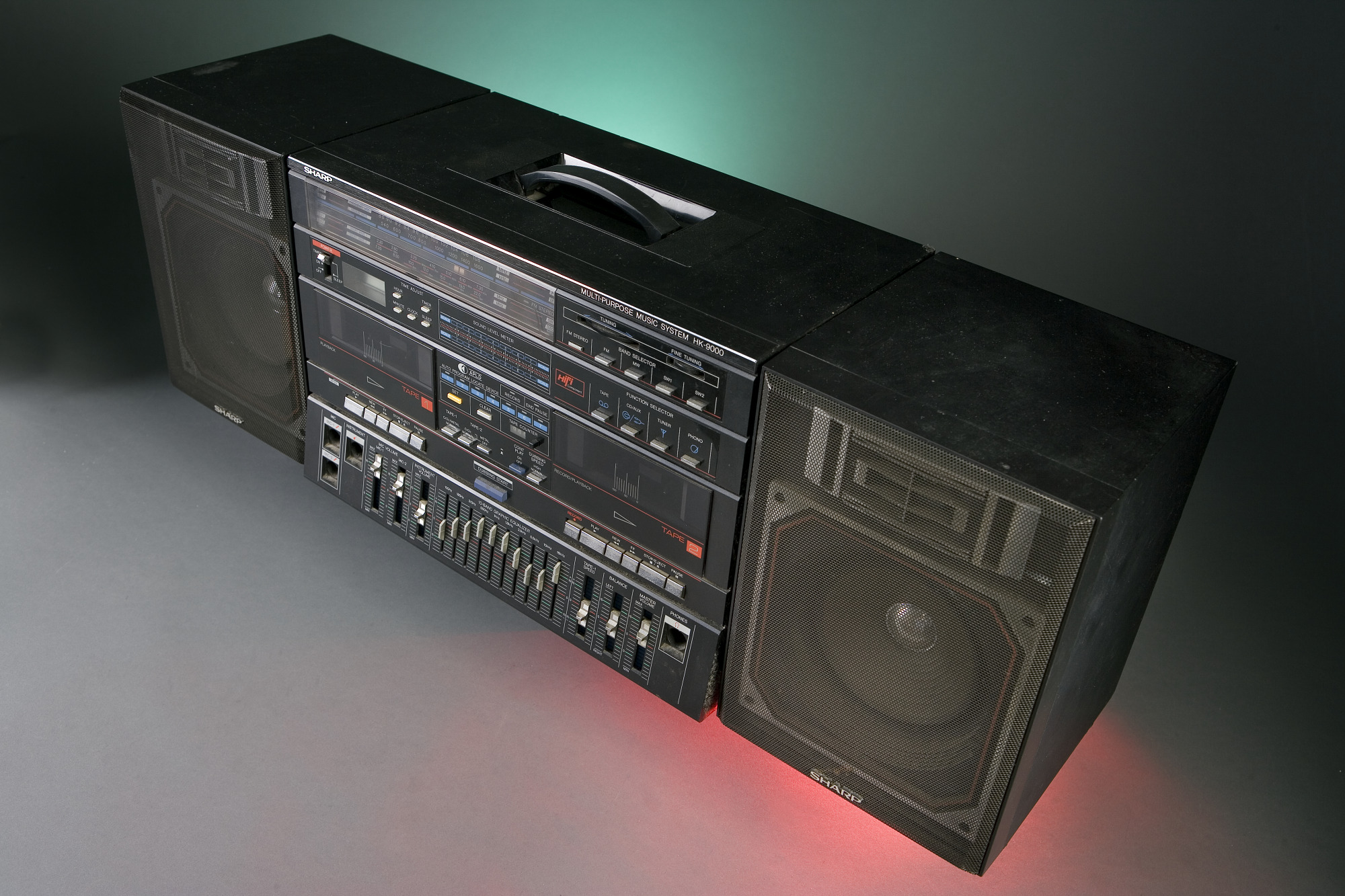 images for Boombox, used by Fab 5 Freddy