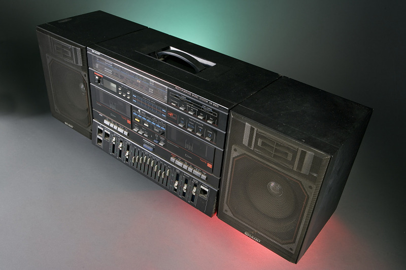 Image for Boombox, used by Fab 5 Freddy