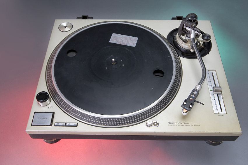 Turntable, used by Grandmaster Flash