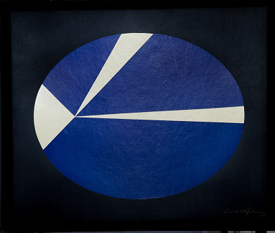 Painting - <I>Law of Orbiting Velocities</I>