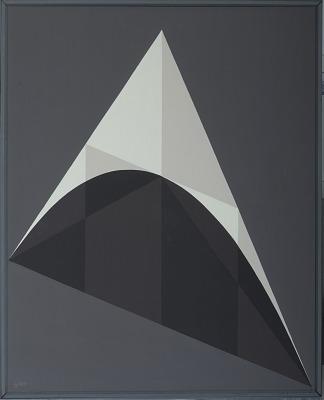 Painting - <I>Parabolic Triangles (Archimedes)</I>