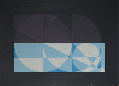Painting -<I>Approximation of Pi to .0001</I>