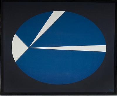 Painting - <I>Law of Orbiting Velocity (Kepler)</I>