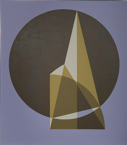 images for Painting - <I>Construction of the Heptagon</I>-thumbnail 1