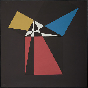 images for Painting - <I>Proof of the Pythagorean Theorem (Euclid)</I>-thumbnail 1
