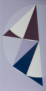 images for Painting - <I>Heptagon 1:3:3 Triangle</I>-thumbnail 1