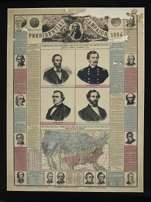 Election Poster, 1864