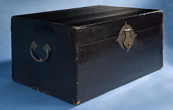 1906 Chinese Immigrant's Lacquer Trunk