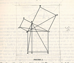 images for Painting - <I>Proof of the Pythagorean Theorem (Euclid)</I>-thumbnail 2