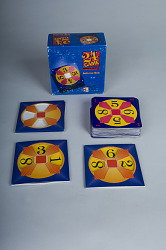 24 Game, Single Digits, a Card Game for Teaching Arithmetic