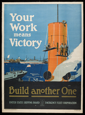 Poster, <I>Your Work Means Victory</I>