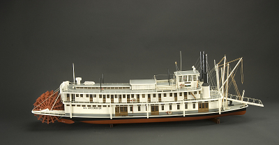 Ship Model, U.S. Lighthouse Service Tender, Greenbrier