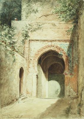 Moorish Gate, Granada