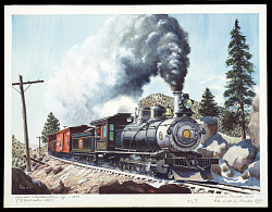 Narrow Gauge in the Rockies, Colorado & North Western No. 30