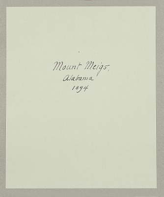 Mount Meigs, Alabama 1894