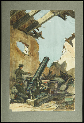 240 M/M Trench Mortar 1919