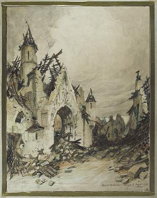 Fere-En-Tardenois - Evening of August 1, 1918