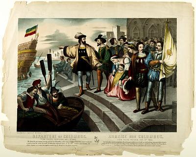 Departure of Columbus
